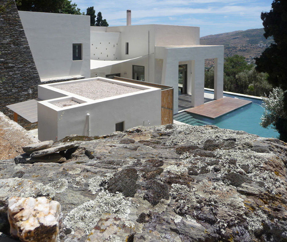 House In Andros Island Klab