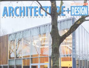 ARCHITECTURE+DESIGN Magazine, India